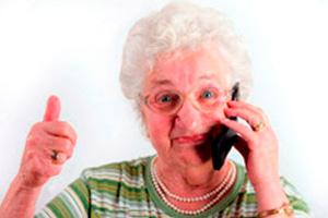 Telefone Amplificado para idosos